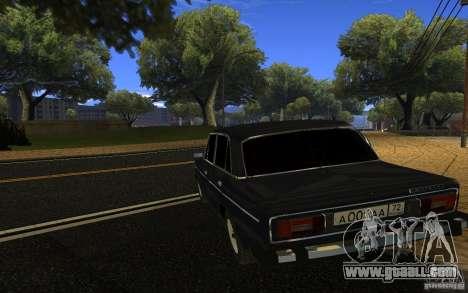 VAZ 2106 Tyumen for GTA San Andreas left view