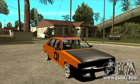 Audi 80 for GTA San Andreas back view