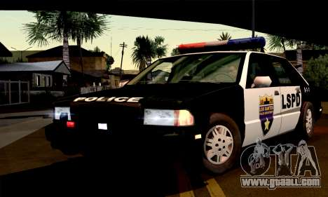 New Police LS for GTA San Andreas right view