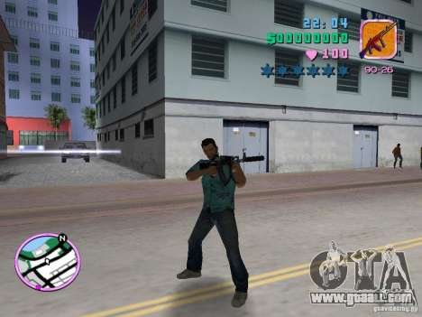 AK-103 for GTA Vice City forth screenshot