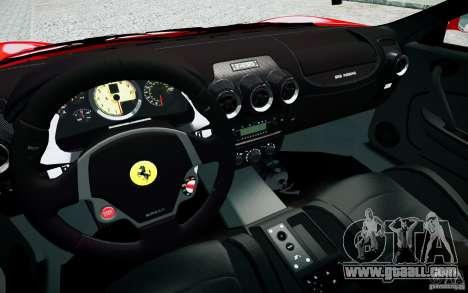 Ferrari F430 for GTA 4 inner view