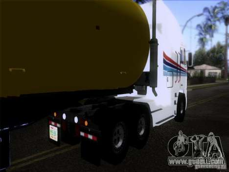 Freightliner Argosy Skin 3 for GTA San Andreas back left view