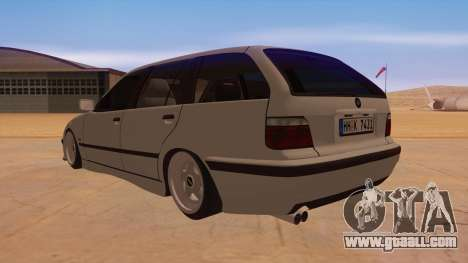 BMW M3 E36 Touring for GTA San Andreas back left view