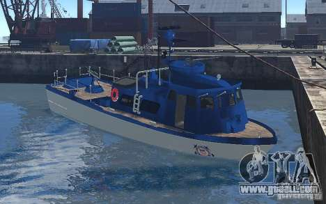 Coast Guard Patrol for GTA 4 left view