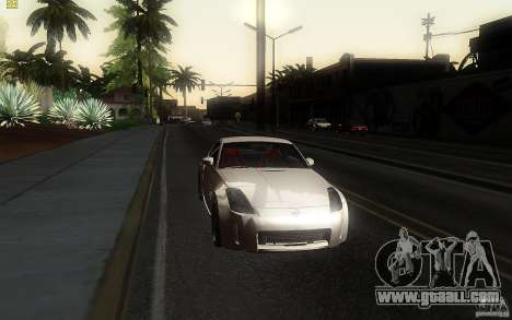 Nissan 350z Speedhunters for GTA San Andreas back view