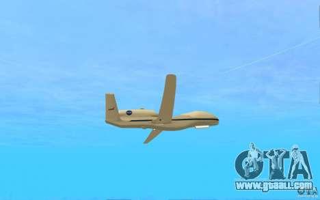 Grumman RQ-4 for GTA San Andreas right view