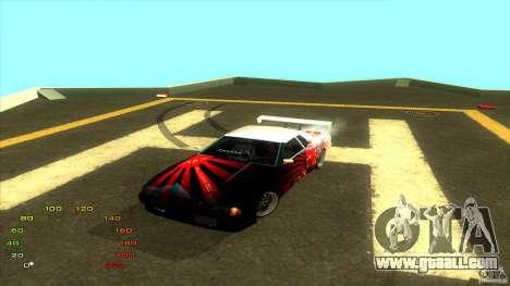 Pack vinyl for Elegy for GTA San Andreas fifth screenshot