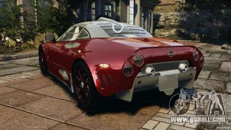 Spyker C8 Laviolette LM85 for GTA 4 back left view
