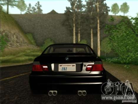 BMW M3 E46 for GTA San Andreas side view
