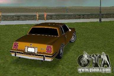 Pontiac Grand Prix for GTA Vice City right view