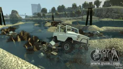 4x4 Trail The Reef for GTA 4 third screenshot