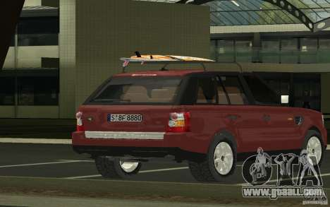 Land Rover Range Rover 2007 for GTA San Andreas left view