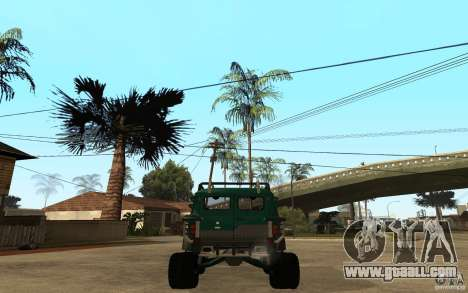 UAZ loaf of hard off-road for GTA San Andreas back left view