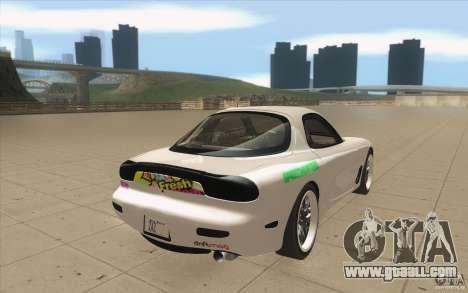 Mazda FD3S - Ebisu Style for GTA San Andreas side view
