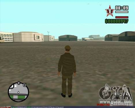 Stalin for GTA San Andreas fifth screenshot