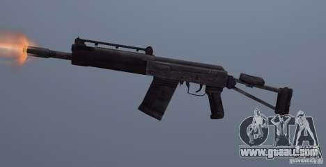 Izhmash Saiga-12K for GTA San Andreas third screenshot