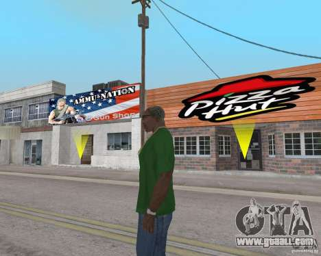 New textures of eateries and shops for GTA San Andreas tenth screenshot