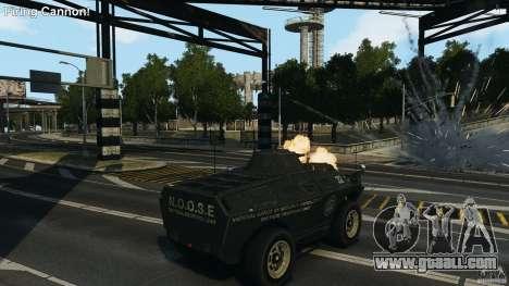 Tank Mod for GTA 4 second screenshot
