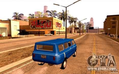 ZAZ 970 for GTA San Andreas upper view