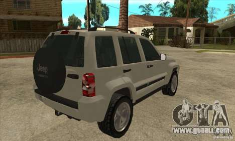 Jeep Liberty 2007 Final for GTA San Andreas right view