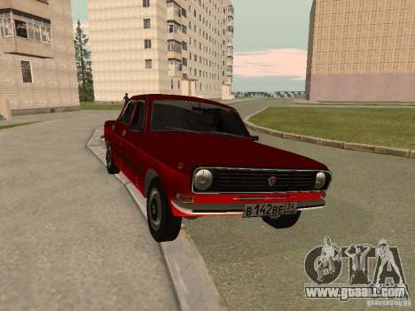 Volga GAZ 24-10 for GTA San Andreas