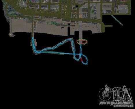 Night moto track V.2 for GTA San Andreas eighth screenshot