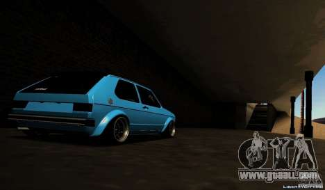 Volkswagen Golf Mk1 Euro for GTA San Andreas right view