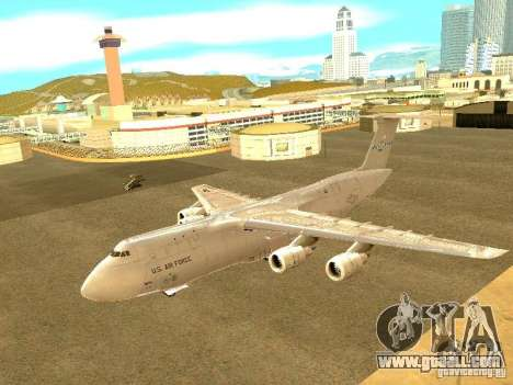 Lockheed C-5M Galaxy for GTA San Andreas