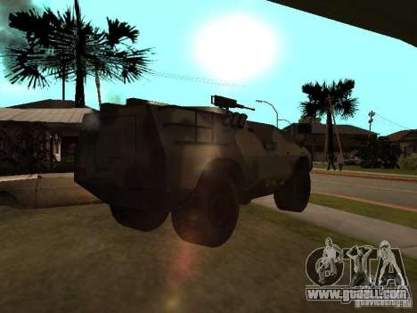 S. w. a. T from Counter Strike Source for GTA San Andreas back left view