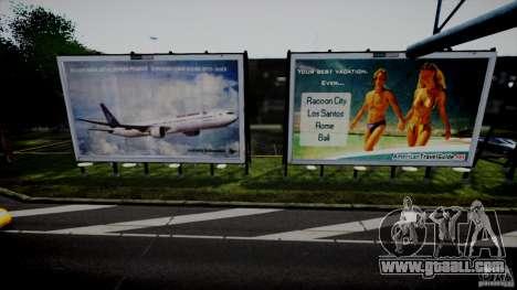 Realistic Airport Billboard for GTA 4 second screenshot