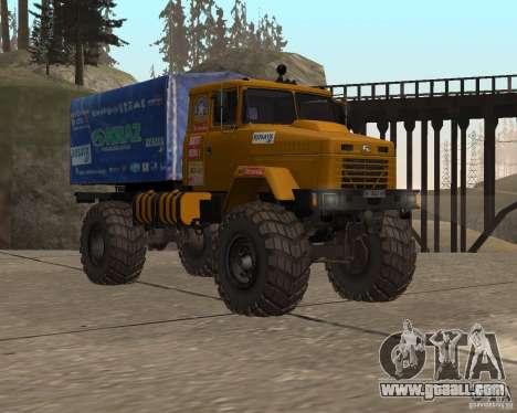 Kraz Monster for GTA San Andreas