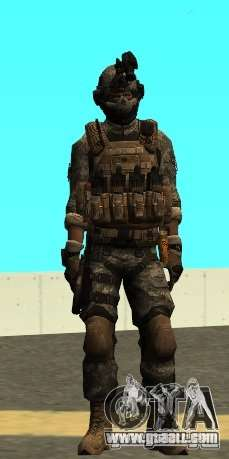 USA Army Special Forces (FIXED) for GTA San Andreas second screenshot
