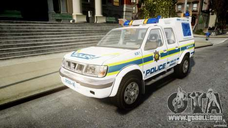 Nissan Frontier Essex Police Unit for GTA 4