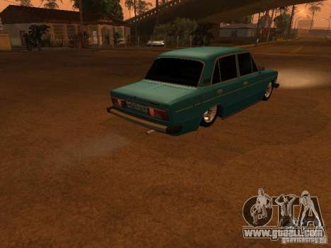 VAZ 2106 Hobo for GTA San Andreas back view
