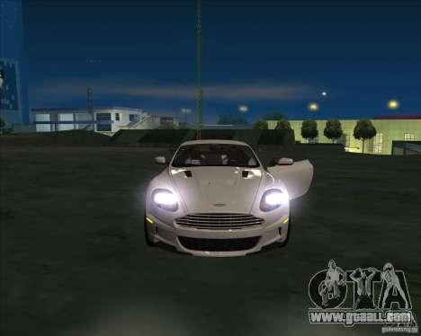 Aston Martin DBS 2009 for GTA San Andreas