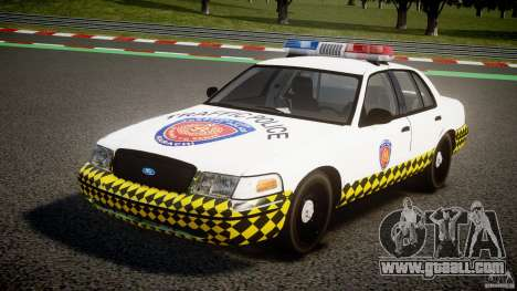 Ford Crown Victoria Karachi Traffic Police for GTA 4