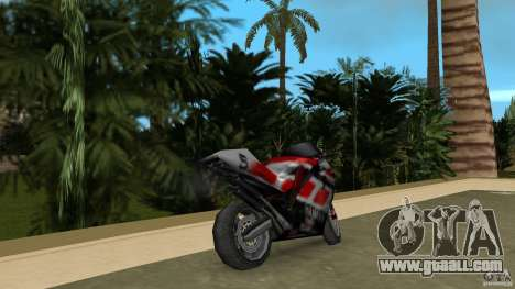 Yamaha YZR 500 for GTA Vice City back left view