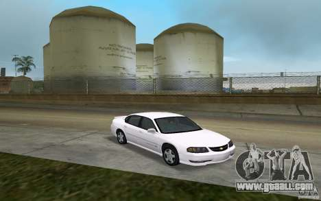 Chevrolet Impala SS 2003 for GTA Vice City back view