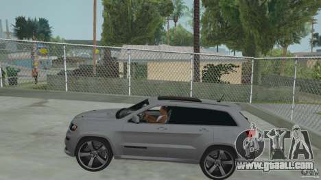 Jeep Grand Cherokee SRT8 2013 for GTA San Andreas right view