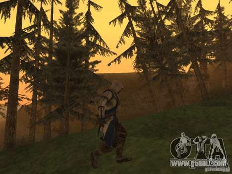 Connor From ACIII for GTA San Andreas third screenshot
