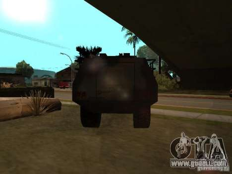S. w. a. T from Counter Strike Source for GTA San Andreas right view