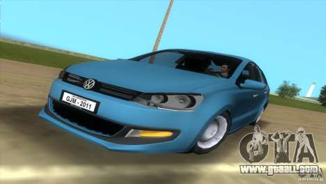 Volkswagen Polo 2011 for GTA Vice City