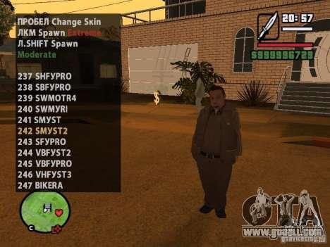 GTA IV peds to SA pack 100 peds for GTA San Andreas twelth screenshot