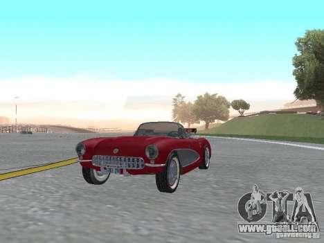 Chevrolet Corvette C1 for GTA San Andreas