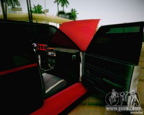 Tofas Dogan SLX DRIFT for GTA San Andreas back view