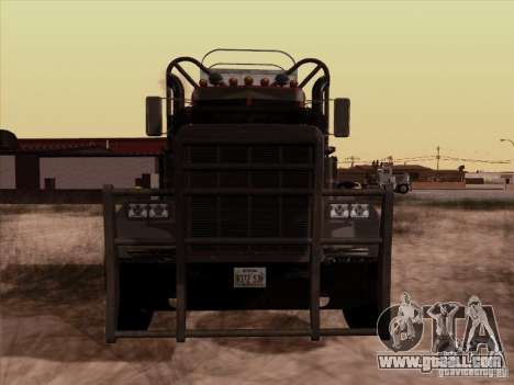 Peterbilt 359 Day Cab for GTA San Andreas left view