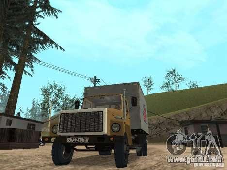 GAZ 3309 CR v2 for GTA San Andreas right view