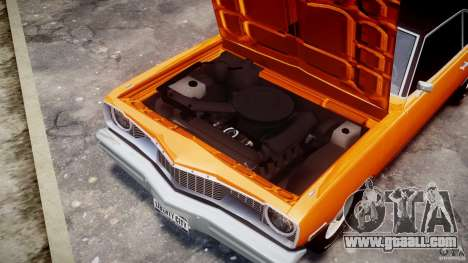 Dodge Dart GT 1975 [Final] for GTA 4 inner view