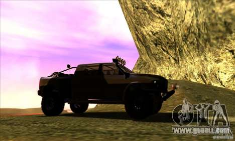 Dodge Ram All Terrain Carryer for GTA San Andreas right view