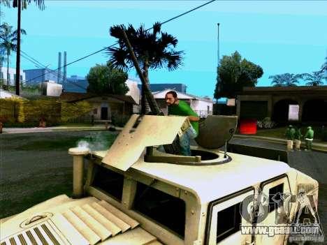 Hummer H1 Irak for GTA San Andreas right view